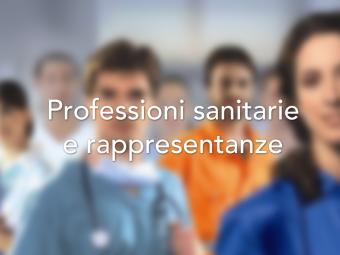 Professioni sanitarie e rappresentanze